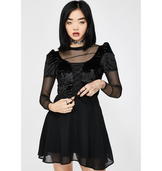 Dolls Kill x The Craft None Undone Babydoll Dress