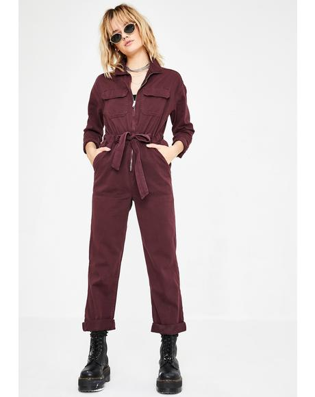 Easy Utility Jumpsuit