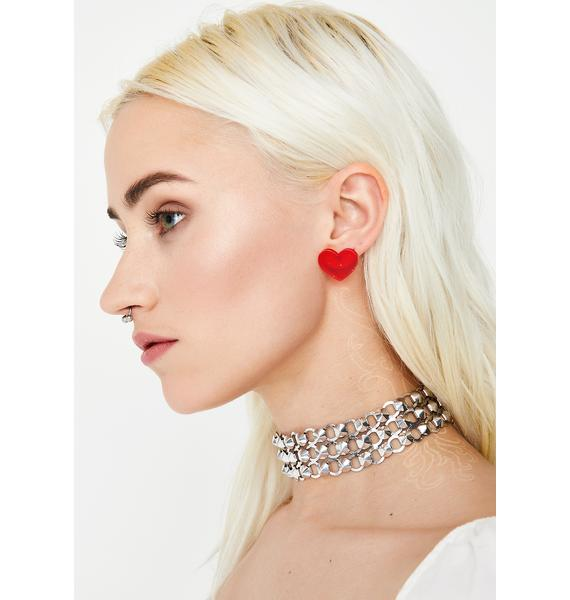 Honeymoon Heart Earrings