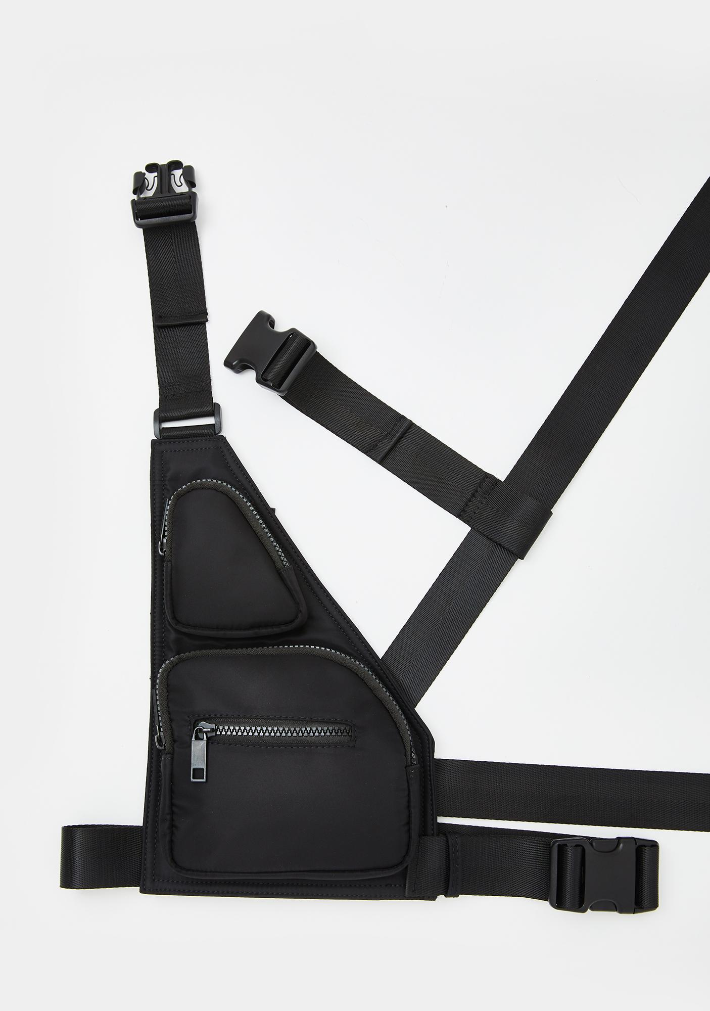 Poster Grl Blocked Harness Fanny Pack