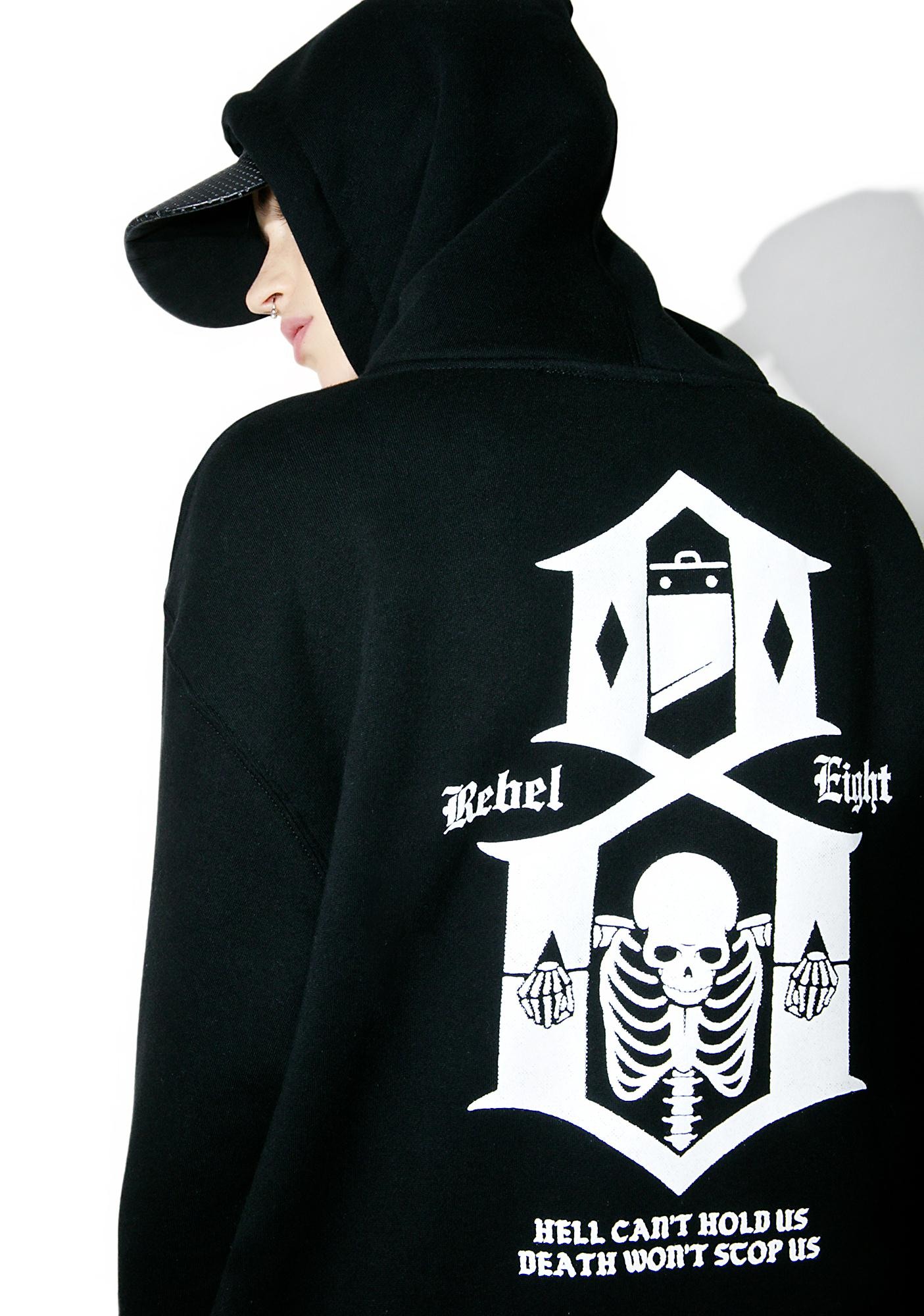 Rebel8 Hell Can't Hold Us Hoodie