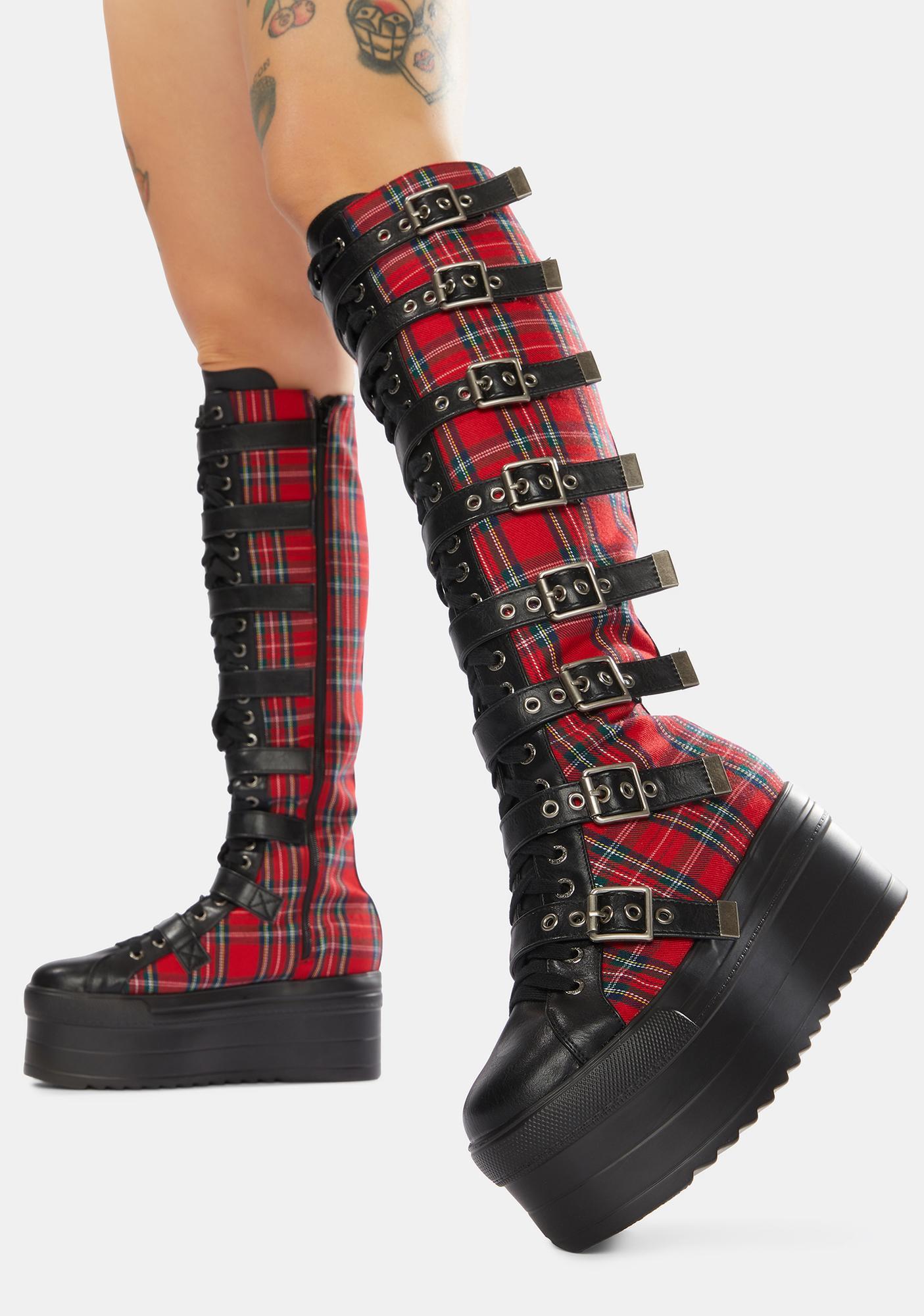 Lamoda Hella Good Knee High Flatform Boots
