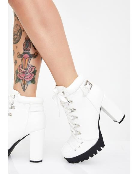 Icy Bye Felicia Ankle Boots