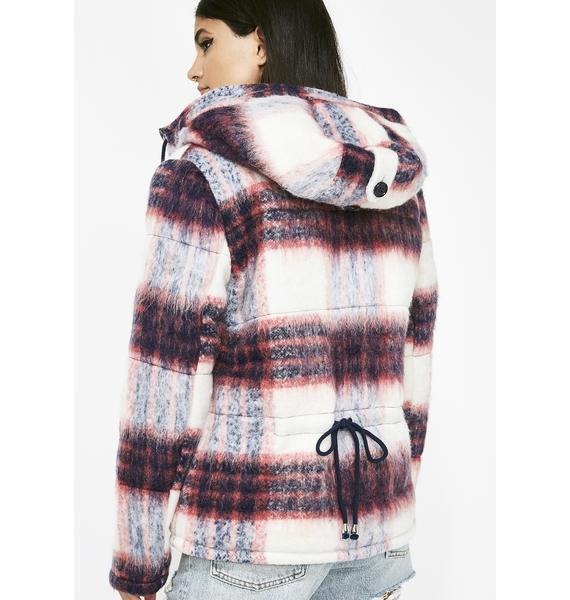 Big Trouble Plaid Jacket