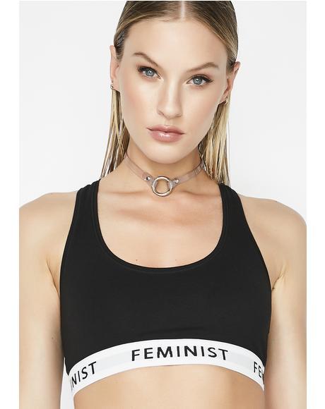 Feminism Sports Bra