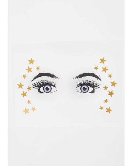 Starry Eyed Surprise Face Gems