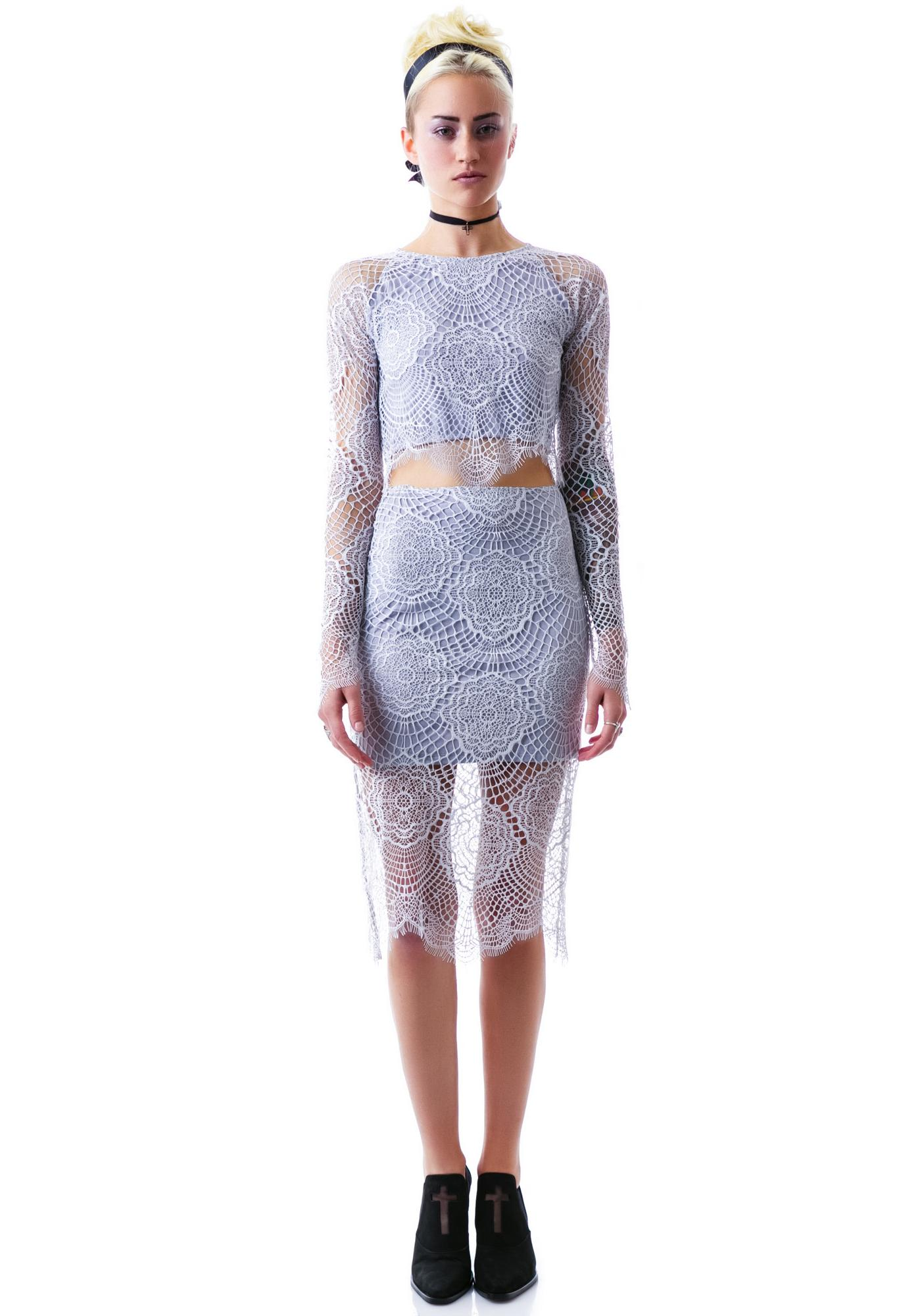 For Love & Lemons Grace Skirt