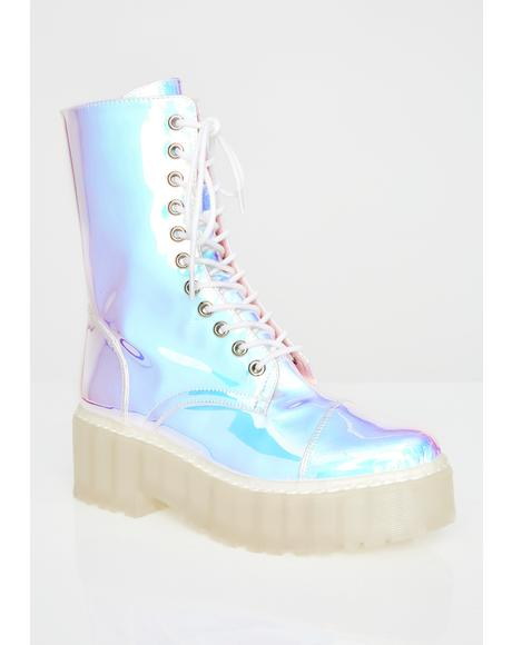Plasma Freeze Combat Boots