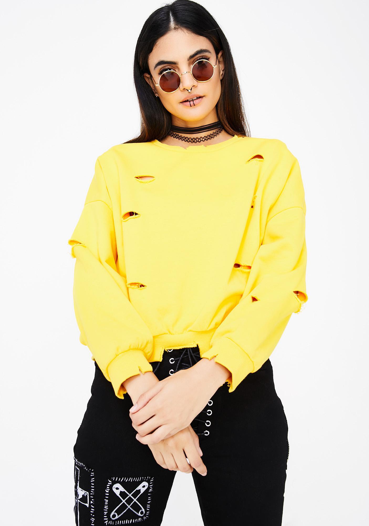 Daisy In The Rough Sweatshirt