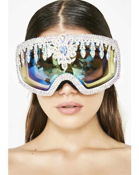 Crystal Snow Goggles