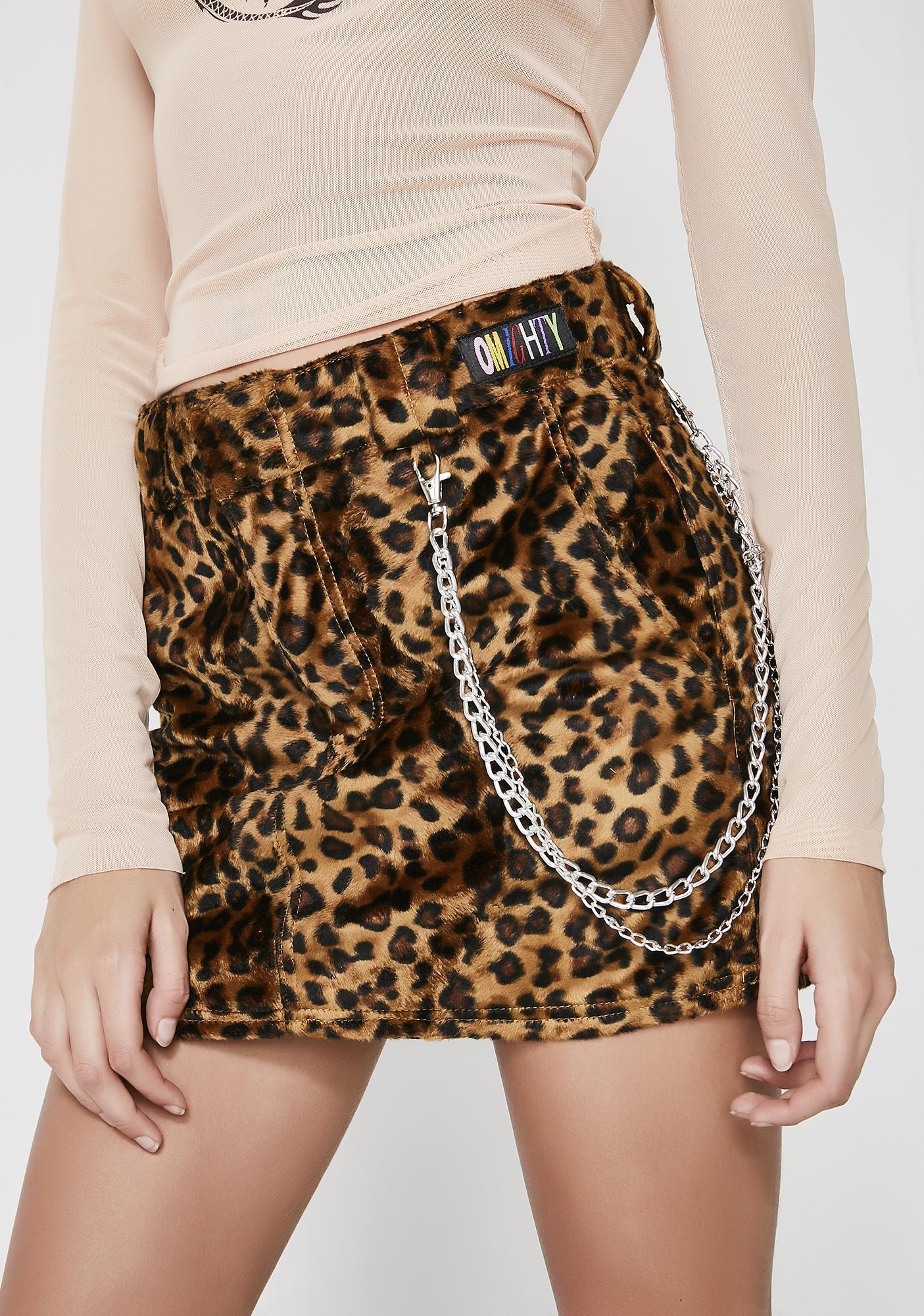 O Mighty Wildcat Chain Skirt
