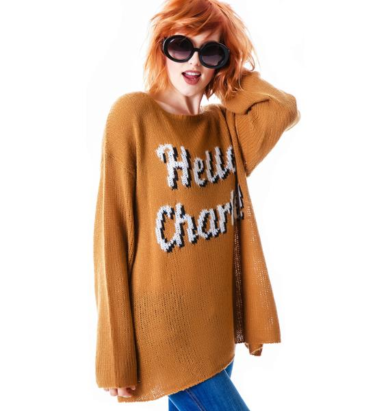 Wildfox Couture Charlie! Ringo Sweater