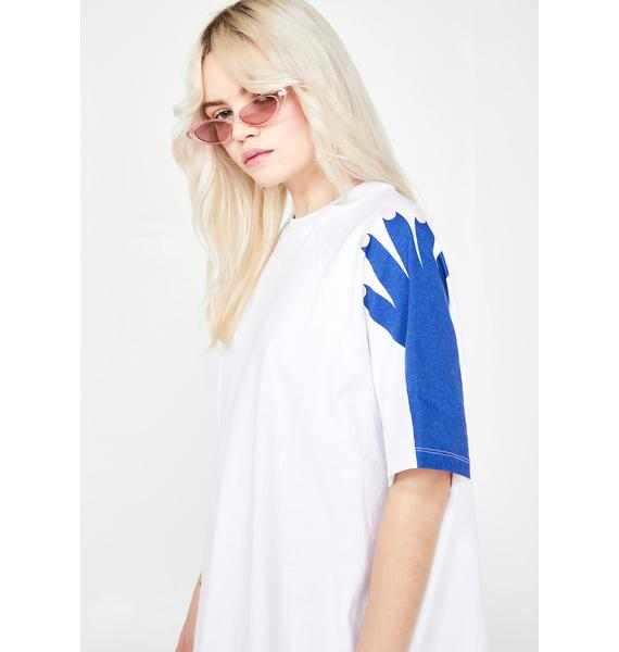 Lazy Oaf Hands Off T- Shirt