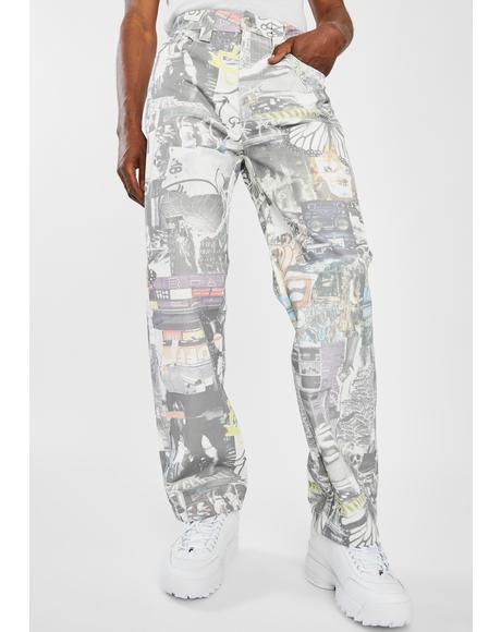 Mash Up Skate Jeans
