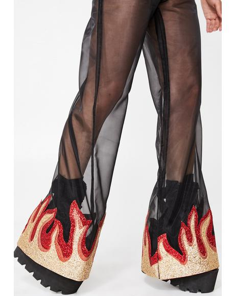 Hellraiser Mesh Pants