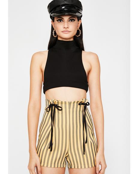 Diva Edition Striped Shorts