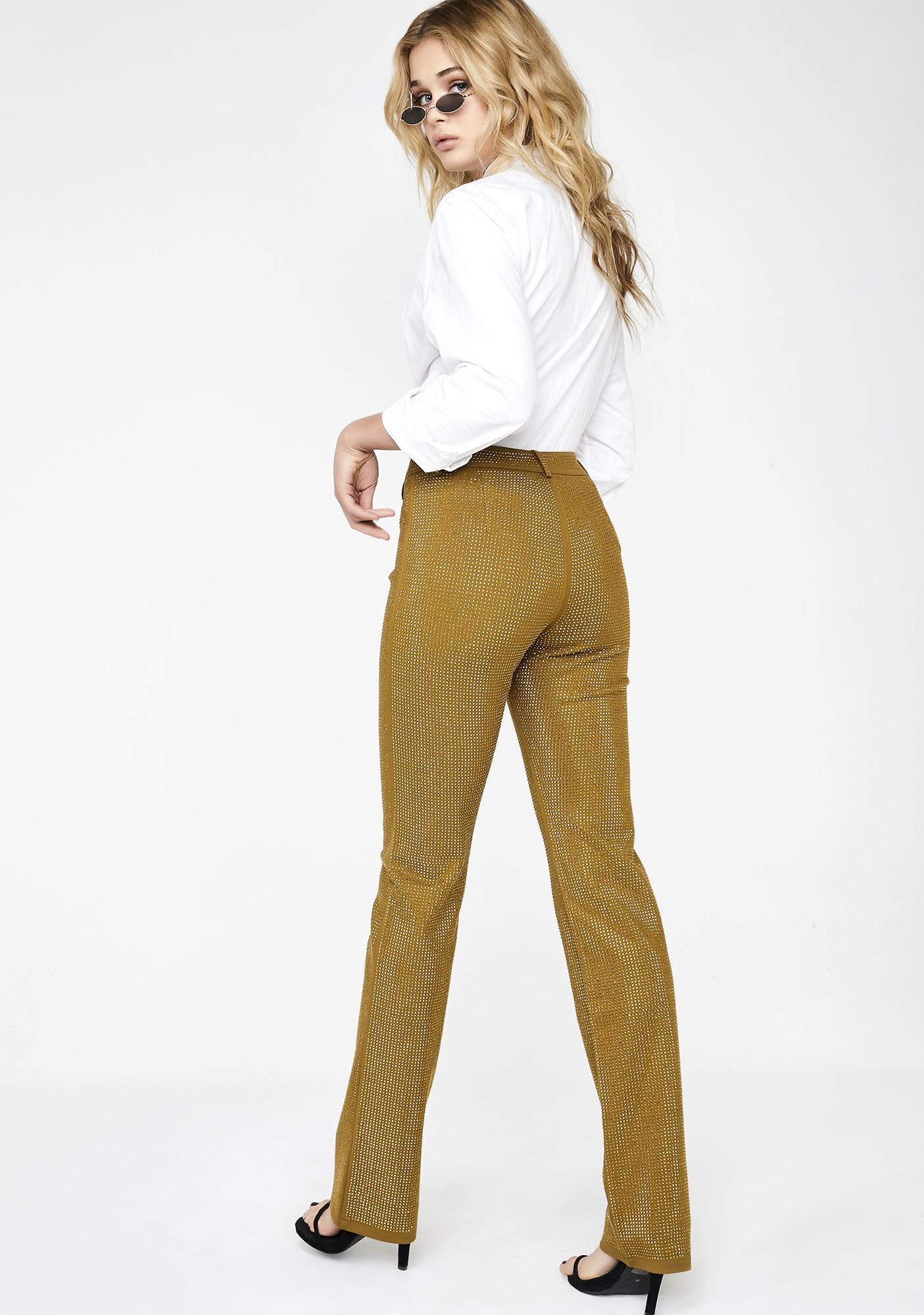I AM GIA Gold Mariah Pants