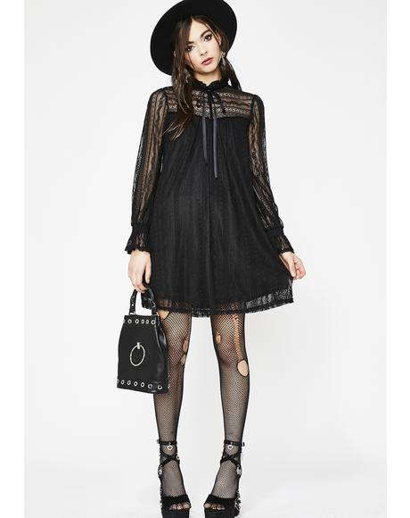 Slay From Hell Lace Dress