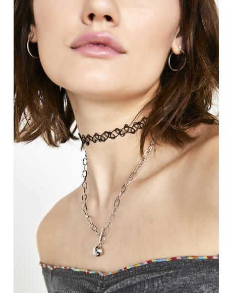 Ball Out Chain Necklace