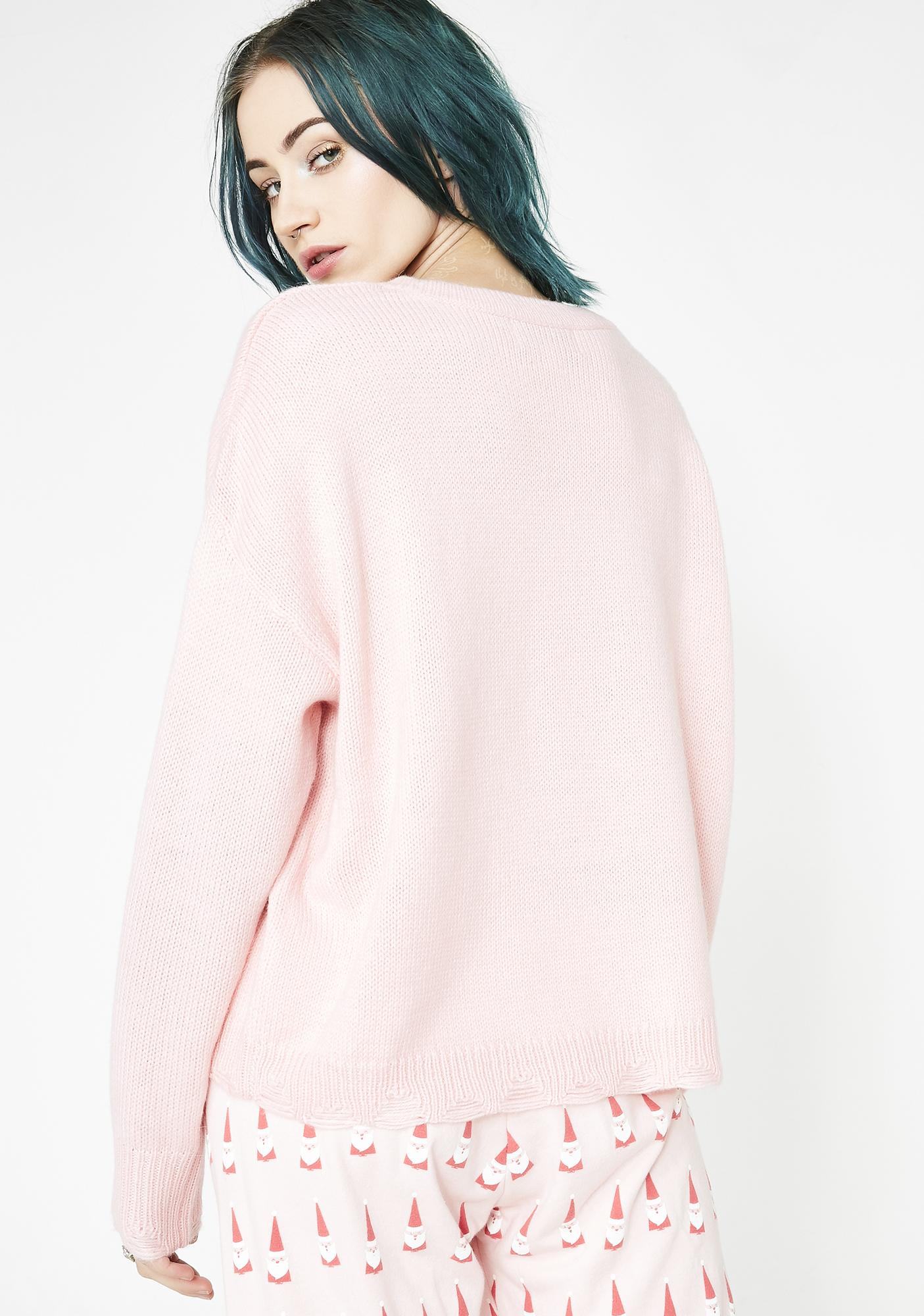 Wildfox Couture Gift Bow Clement Sweater