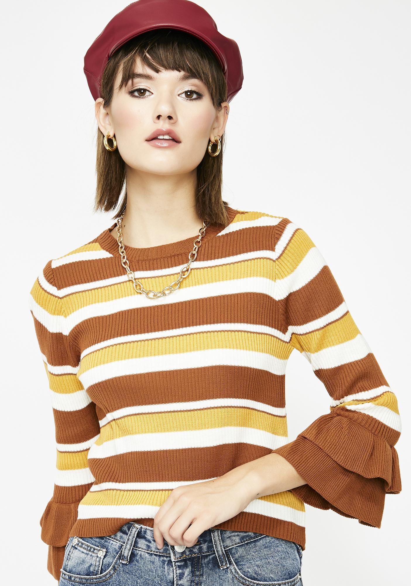 Hometown Hottie Stripe Sweater