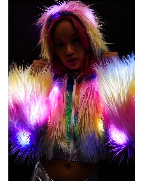 Candyland Light-Up Coat