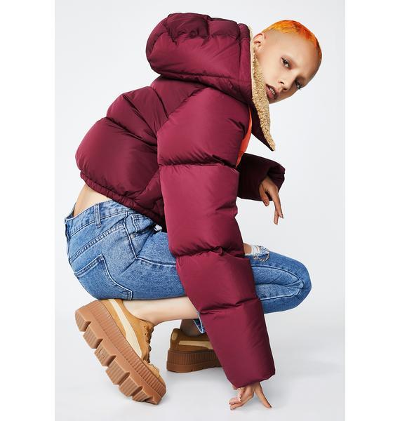 PUMA FENTY PUMA By Rihanna Quilted Bomber