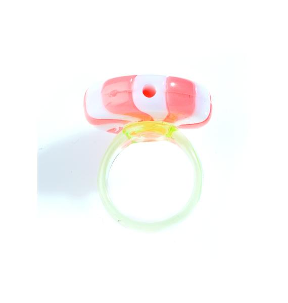 Rad and Refined Redd Peppermint Ring