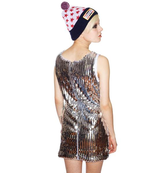 Tumbler & Tipsy Sleeveless Sequin Dress