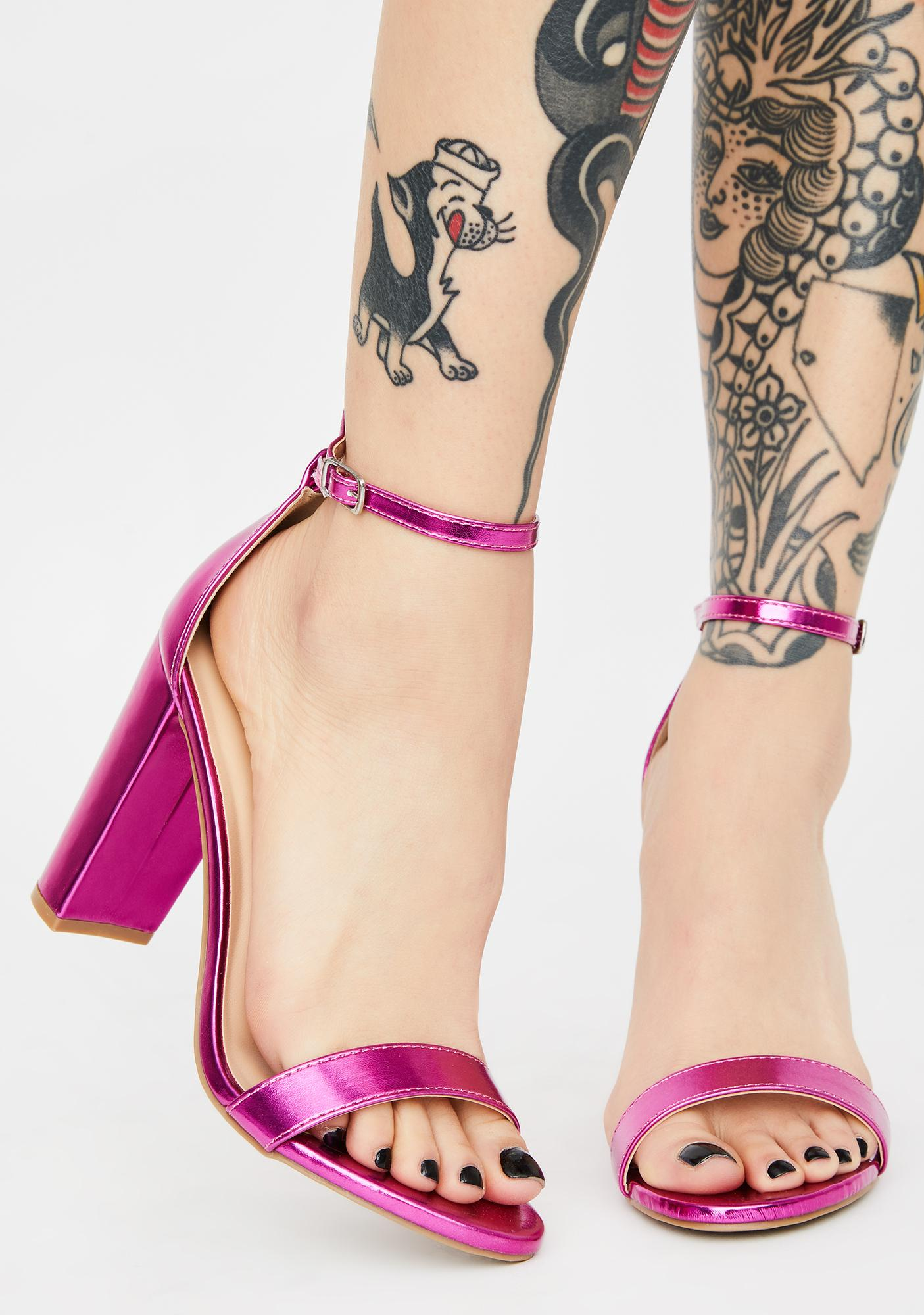 Pretty Illuminating Thoughts Heels