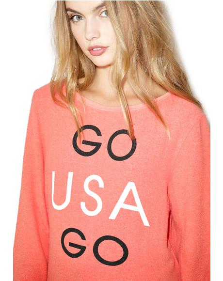Go Team Go Sweatshirt