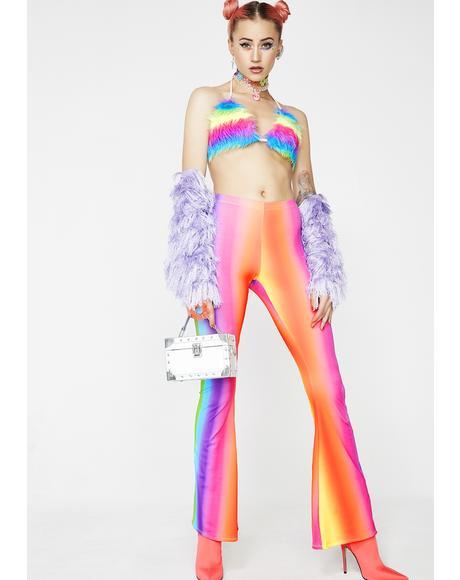 Rainbow Gradient Flares