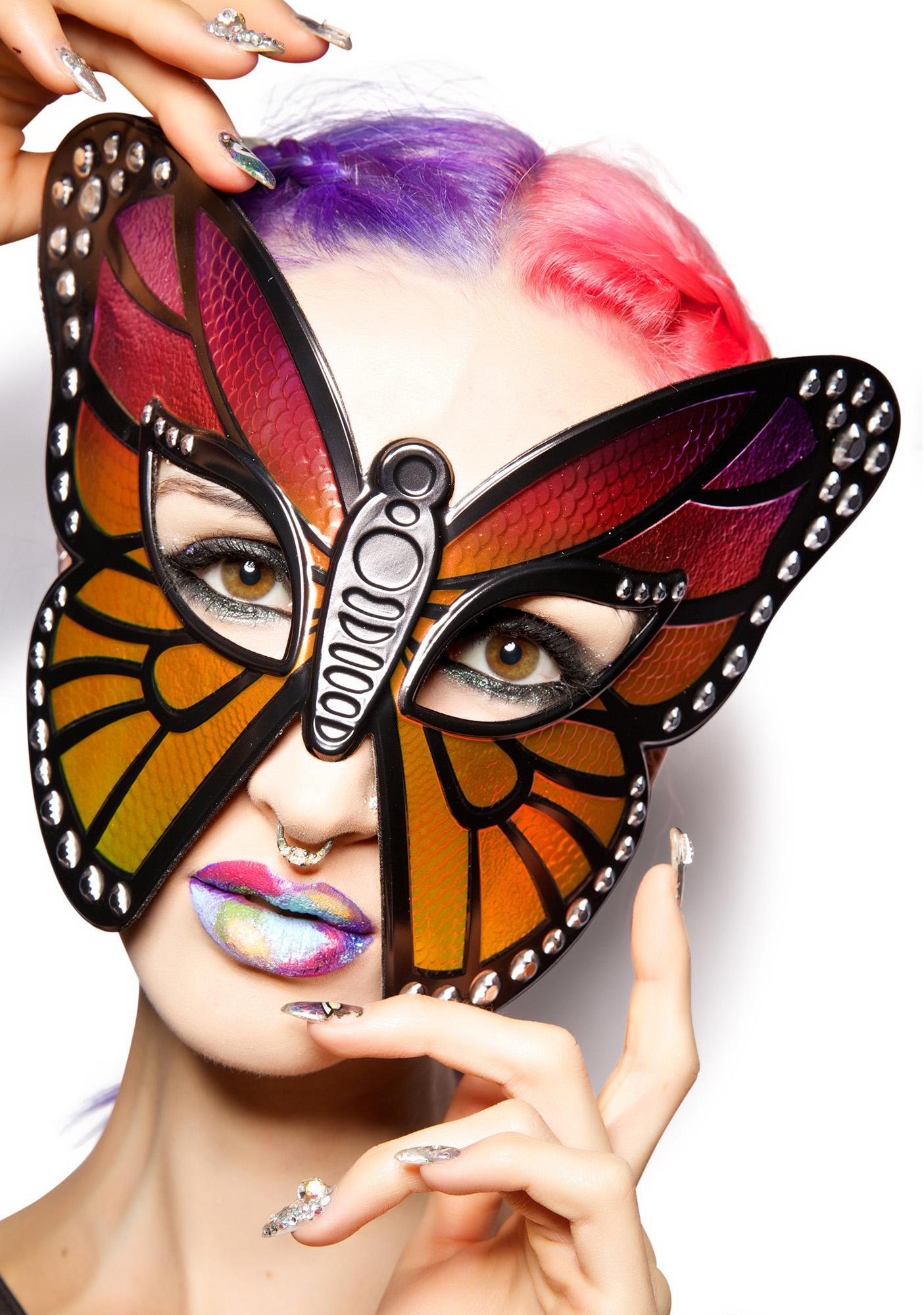 Spread Yer Wings Butterfly Mask