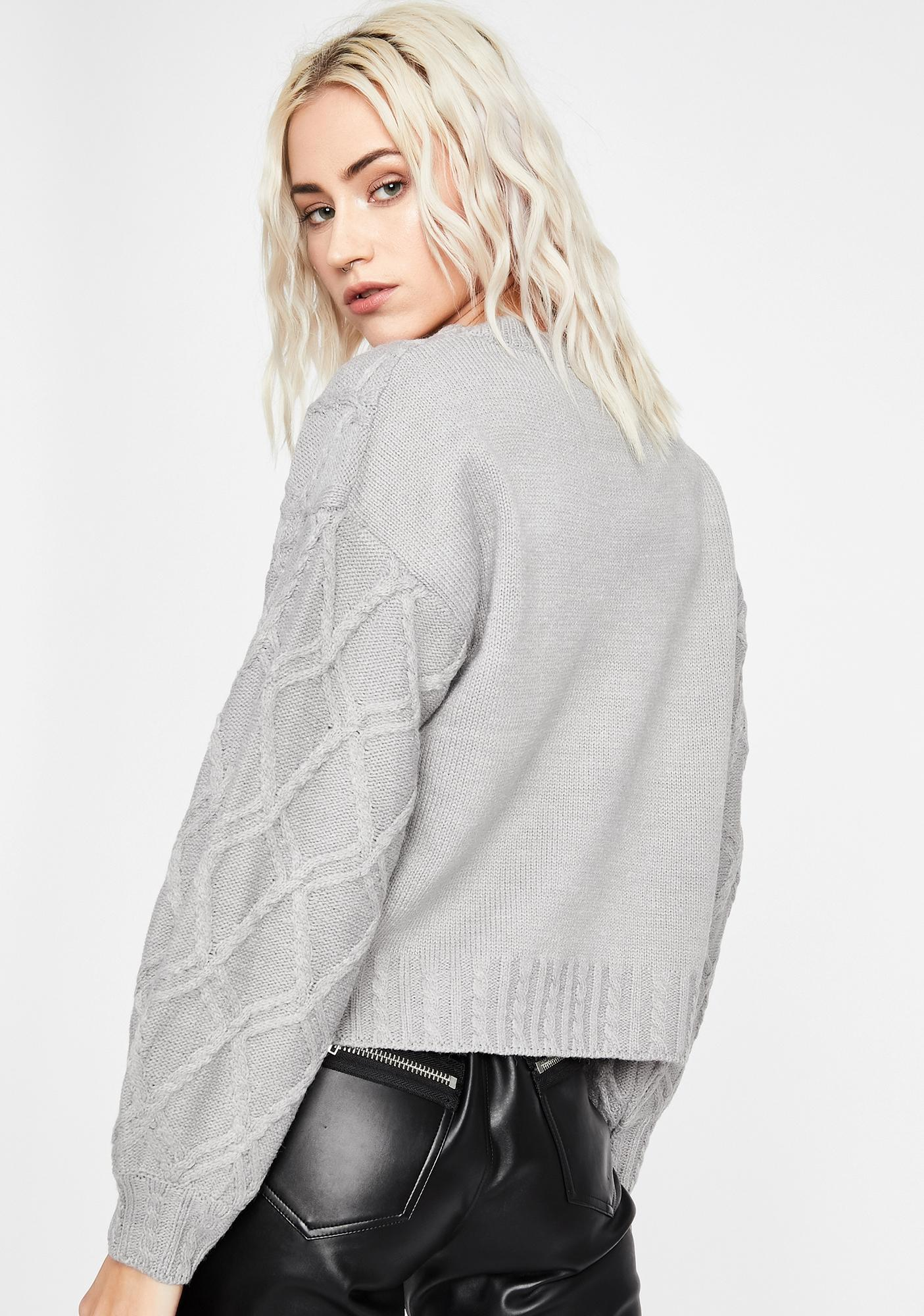 Moved On Knit Sweater