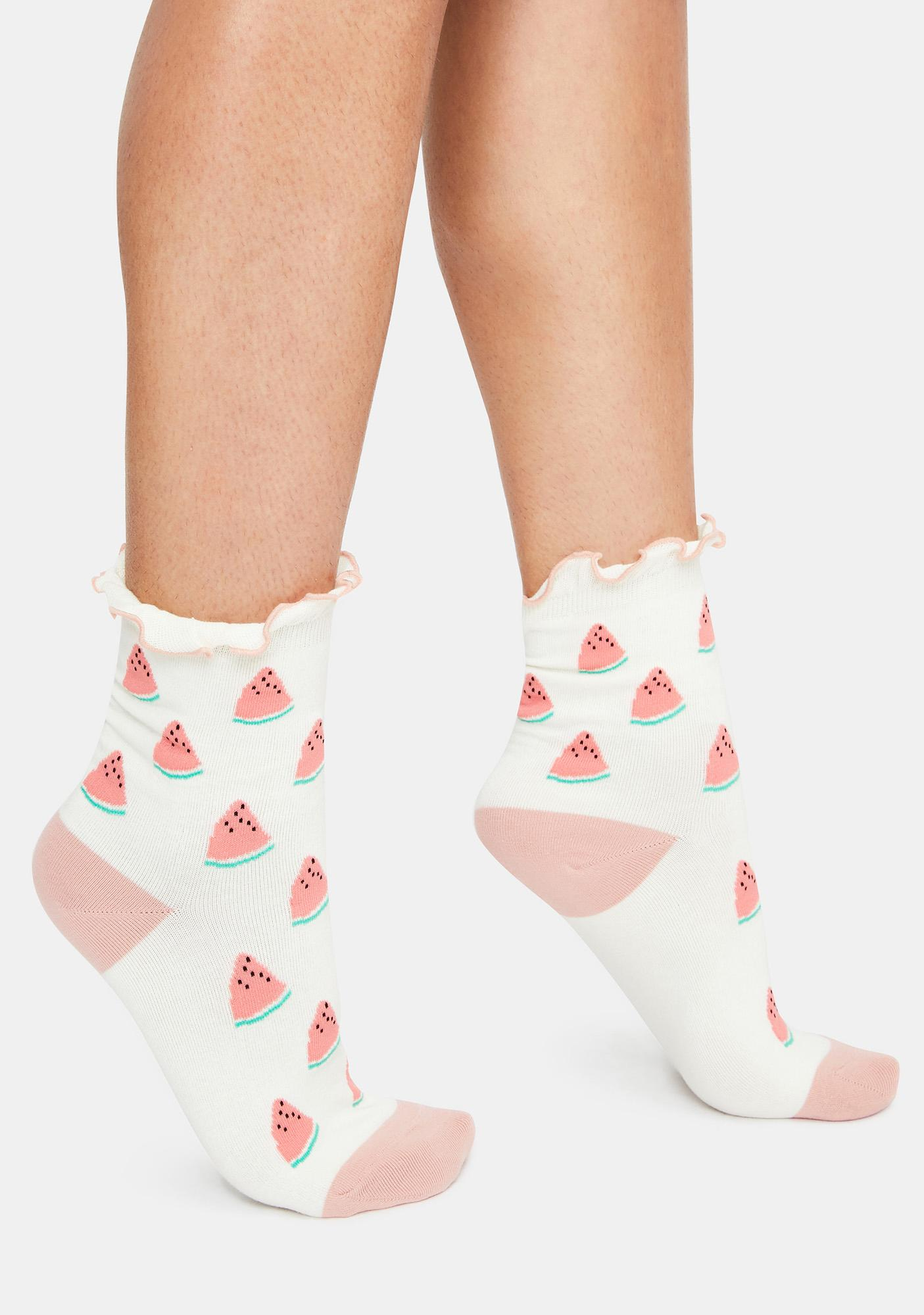 I'm So Sweet Watermelon Socks