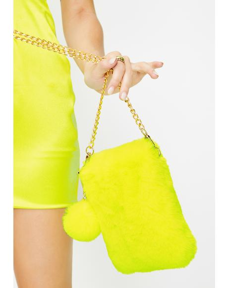 Atomic Rad Fads Fuzzy Purse