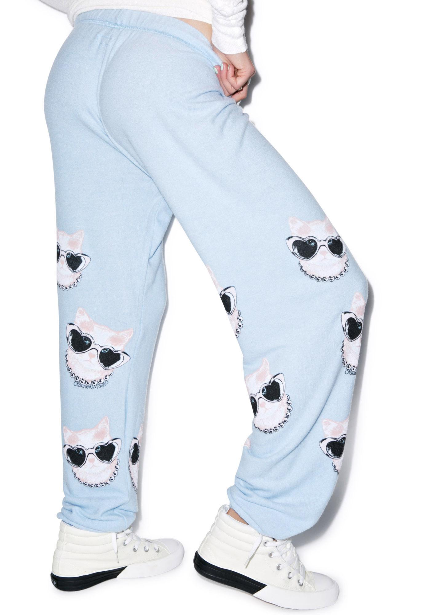 Lauren Moshi Tanzy Mini Cat Long Pant