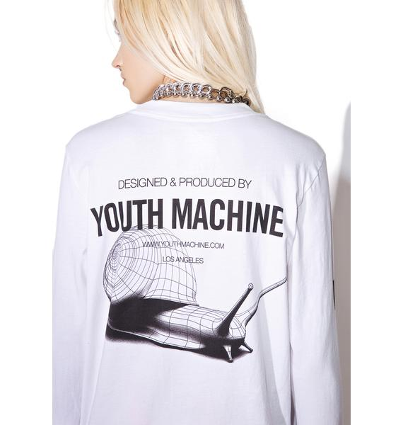 Youth Machine Snails Long Sleeve Tee
