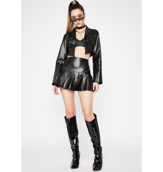 Dreamer District Vegan Leather Jacket
