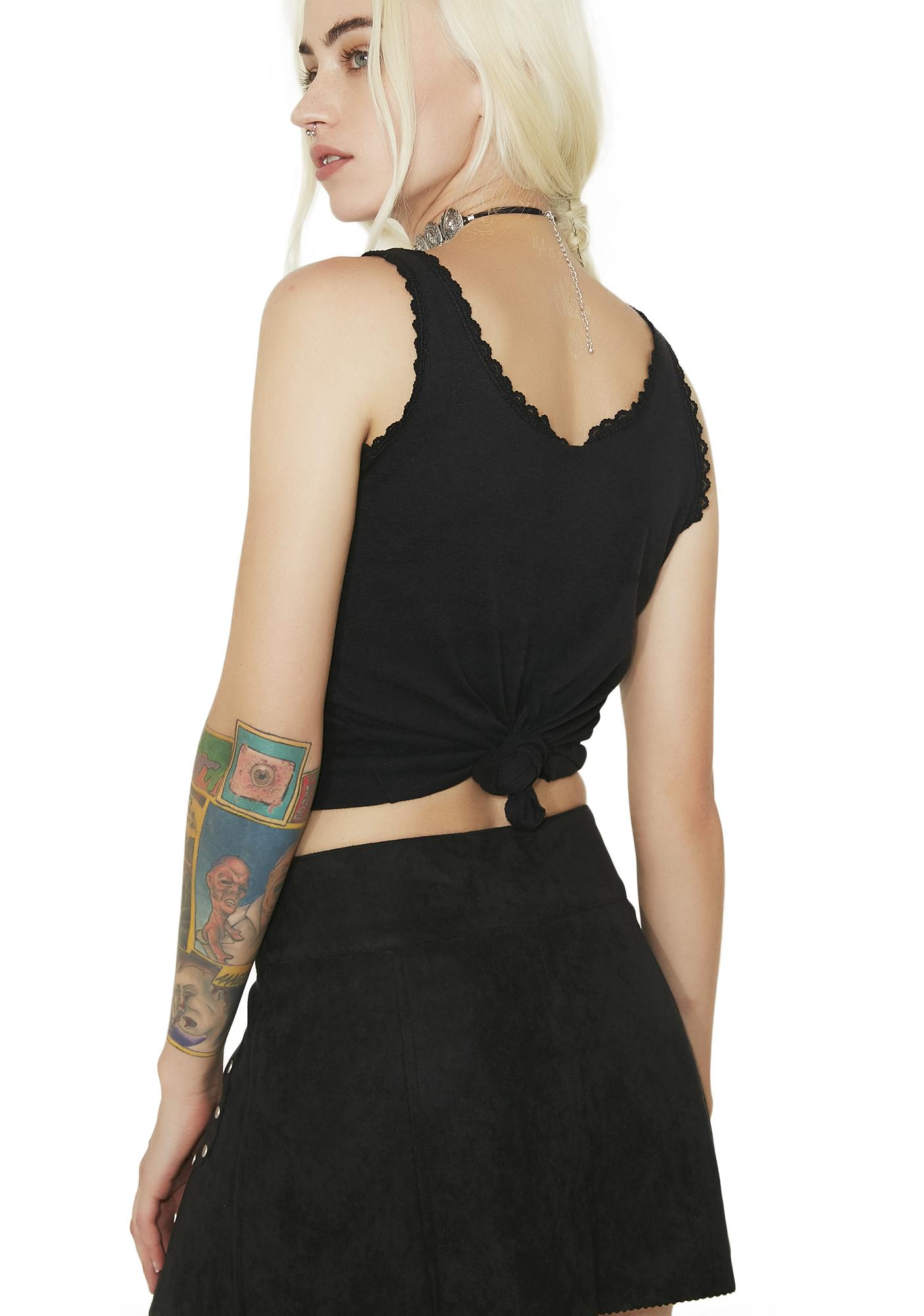 Current Mood Bad Newz Babe Mini Skirt