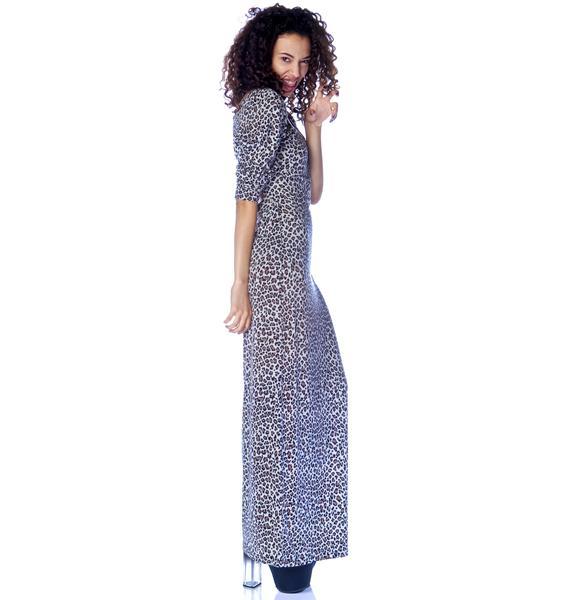 Mad Love Afriiika Wrapped Maxi Dress
