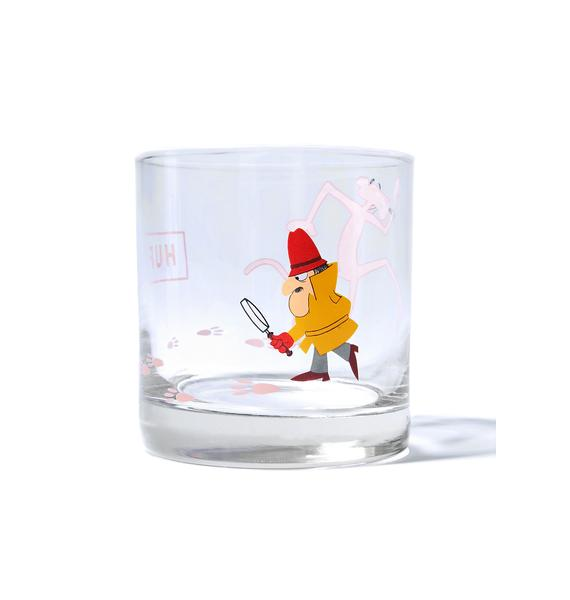 HUF X PP Drinking Glass