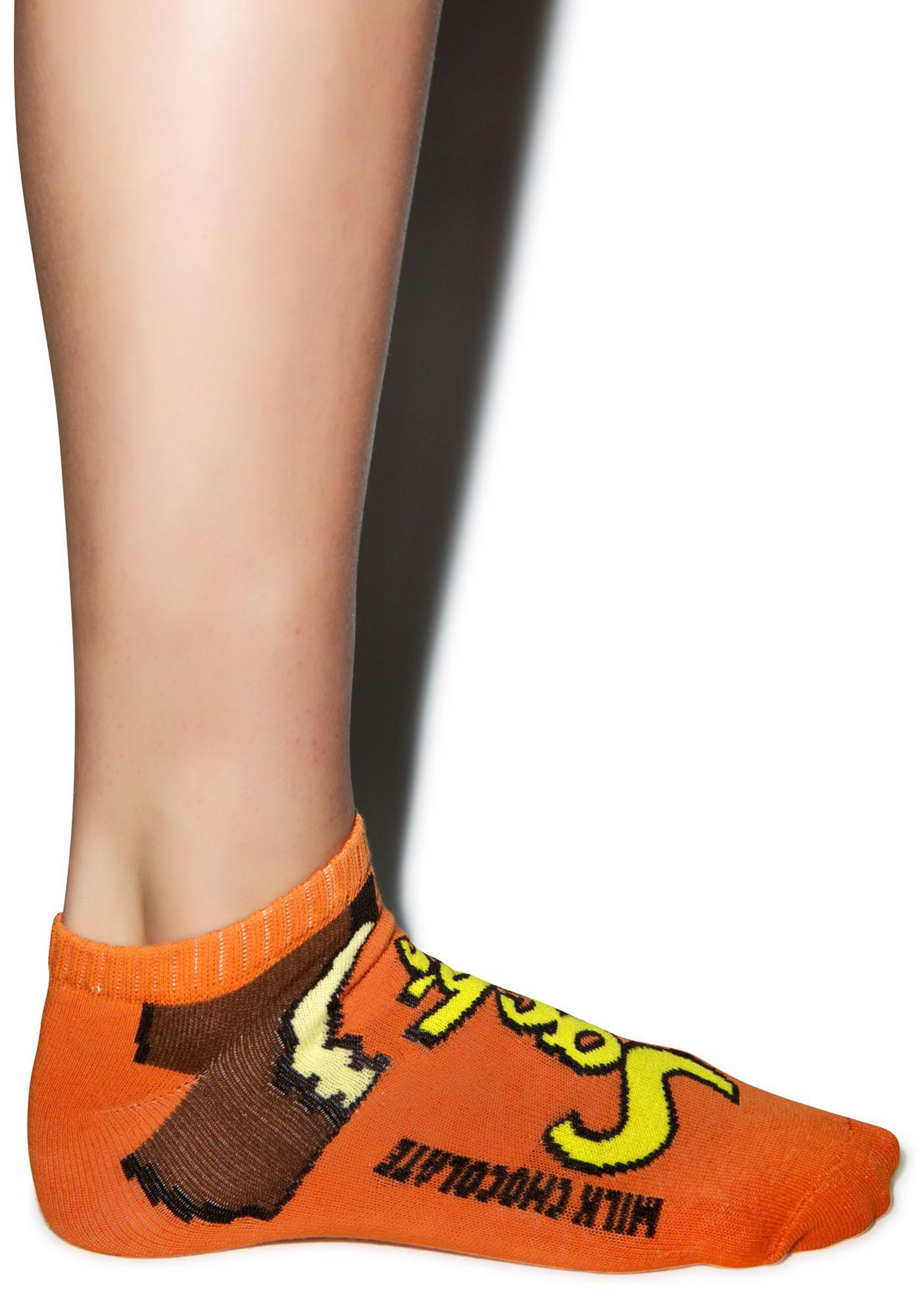 Peanut Butter Cup Socks