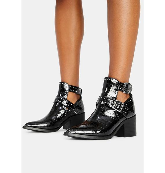 Steve Madden Andy Buckle Boots