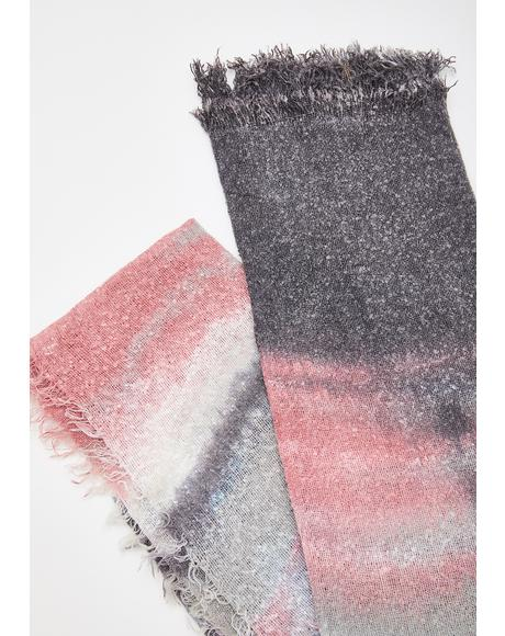 Whisked Away Tie Dye Scarf