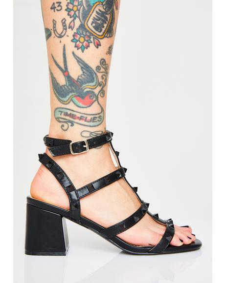 Fashion Gang Studded Heels