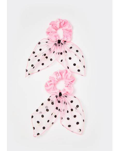 Rose Yours To Keep Scrunchie Set