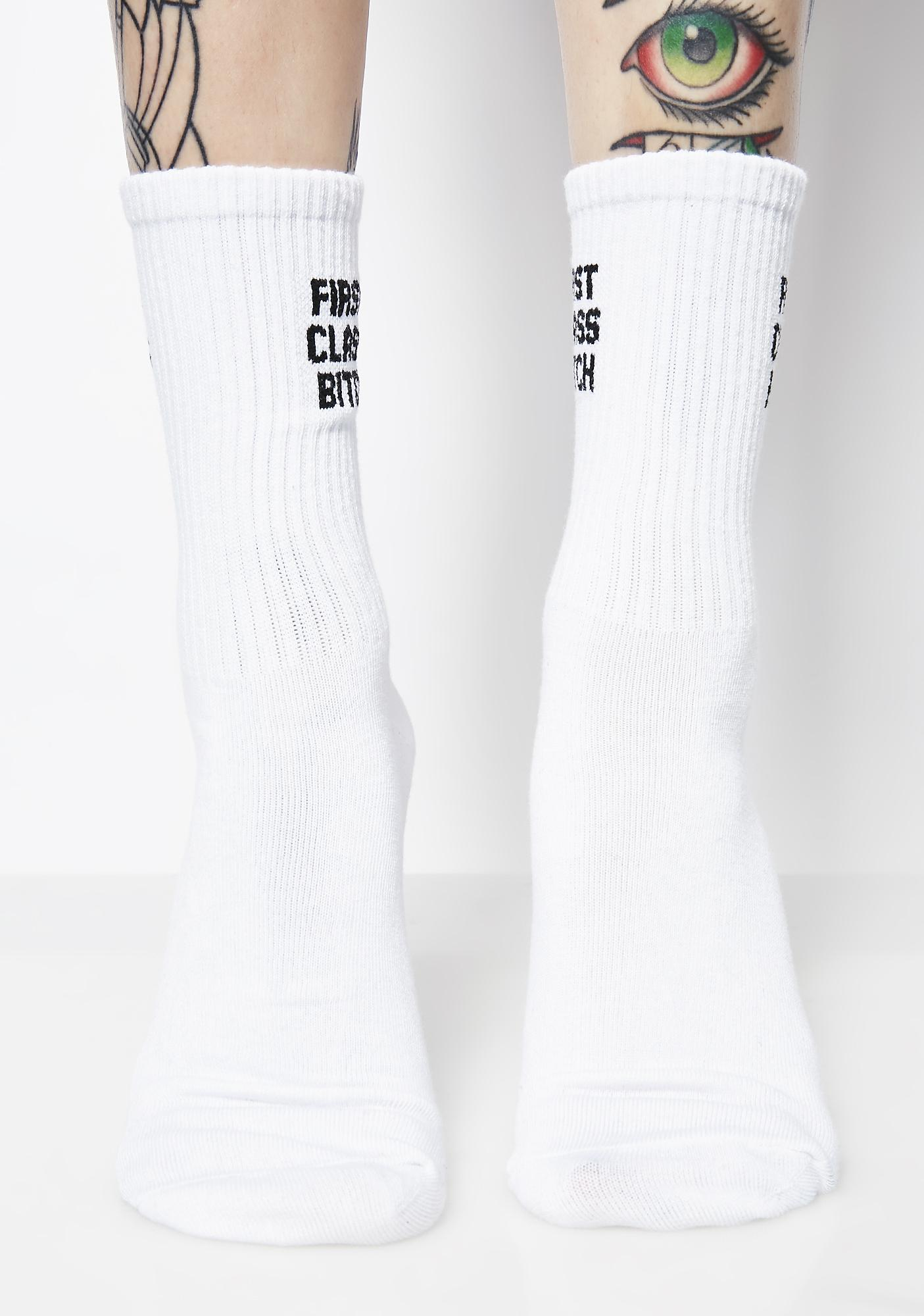 First Class Babe Socks