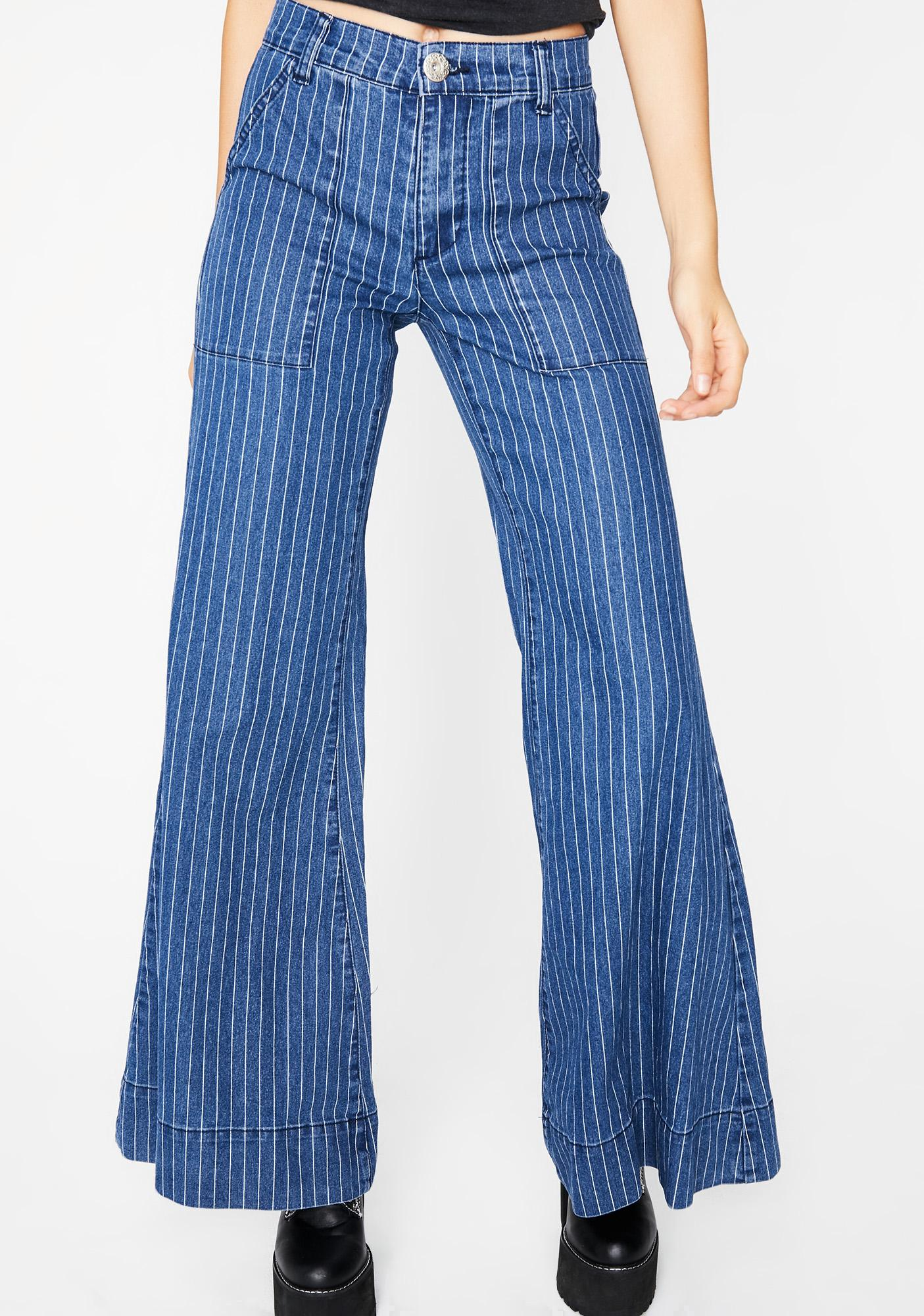 Familiar Groove Denim Pants