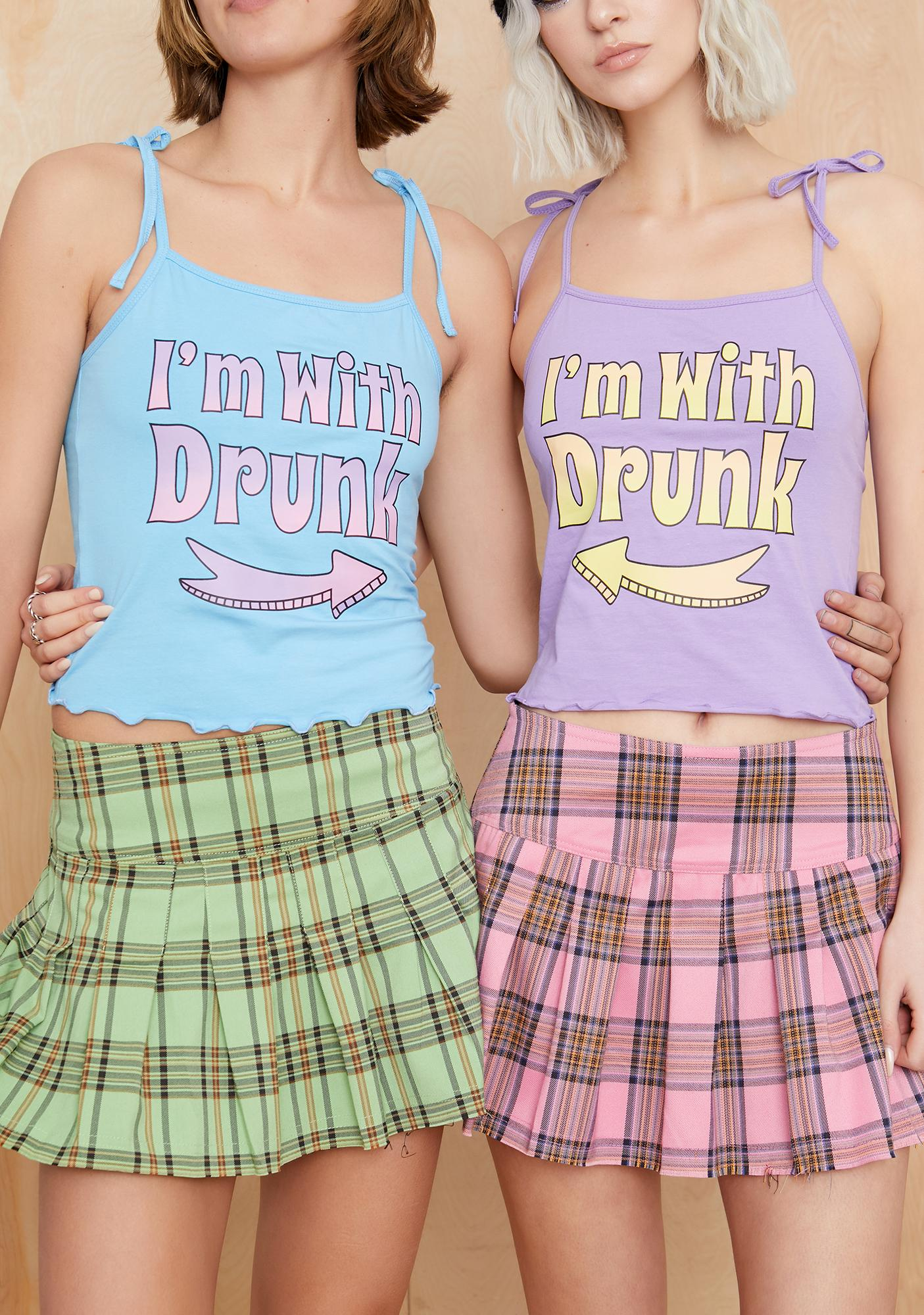 Current Mood Drank Seeing Double Graphic Tank